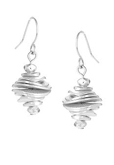 Kenneth Cole New York Stacked Disc Drop Earrings