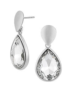 Kenneth Cole New York Crystal Teardrop Earrings