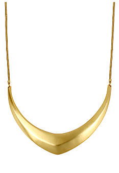 Kenneth Cole New York Sculptural Frontal Necklace
