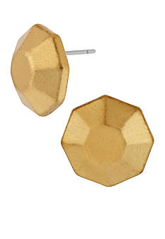 Kenneth Cole New York Geometric Faceted Stud Earrings