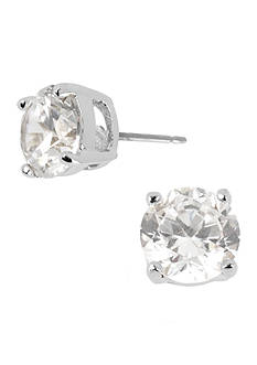 Kenneth Cole Small Crystal Stud Earrings