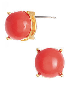Kenneth Cole New York Coral Stud Earrings