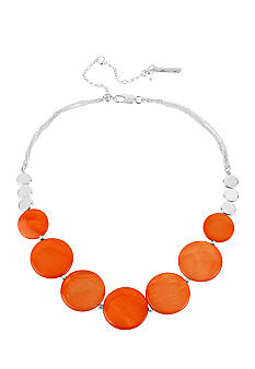 Kenneth Cole New York Coral Shell Frontal Necklace