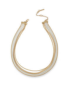 Kenneth Cole Two-Tone Snake Multi Chain Necklace