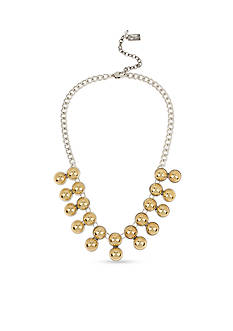 Kenneth Cole New York Two-Tone Ball Collar Necklace