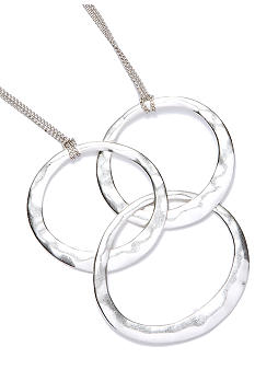 Kenneth Cole New York Three Circle Necklace