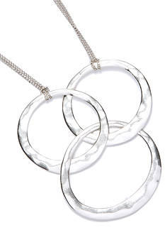 Kenneth Cole Three Circle Necklace