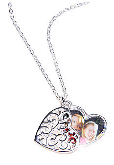 Belk Silverworks 'Mom, You Are the Heart of Our Family' Pendant