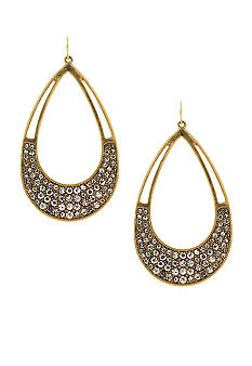 Jessica Simpson Open Drop Hoops