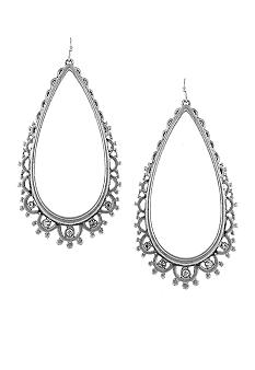 Jessica Simpson Chic Frills Earrings