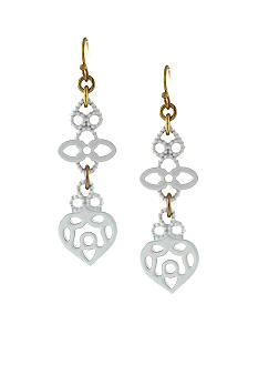 Jessica Simpson Lacey Linear Earrings