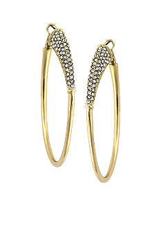 Jessica Simpson Basic Gold Hoop Earrings