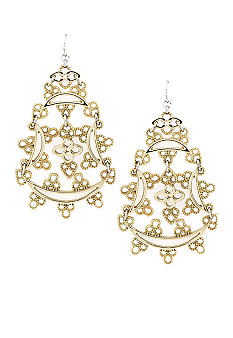 Jessica Simpson Lacey Statement Earrings