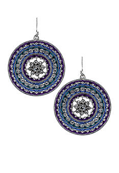 Jessica Simpson Exotic Stone Earrings