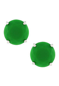 Jessica Simpson Green Tropic Nights Stud Earrings