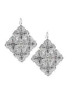 Jessica Simpson Baroque Bohemia Drop Earrings