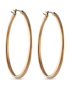 Jessica Simpson Oval Hoop Earrings