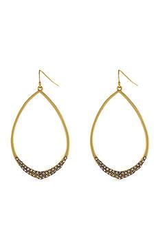 Jessica Simpson Teardrop Pave Earring