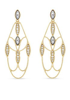 Jessica Simpson Dreamcatcher Teardrop Earrings
