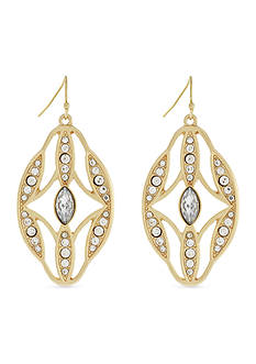 Jessica Simpson Dreamcatcher Drop Earrings