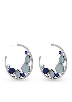 Jessica Simpson Hoop To It C Hoop Earrings