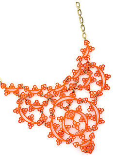 Jessica Simpson Eyelet Statement Necklace