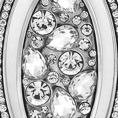Jewelry & Watches: Jessica Simpson Fashion Jewelry: Silver Jessica Simpson G CRYST 32 PNDT