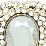 Jewelry & Watches: Jessica Simpson Fashion Jewelry: Gold Jessica Simpson Feather Burst Collar Necklace