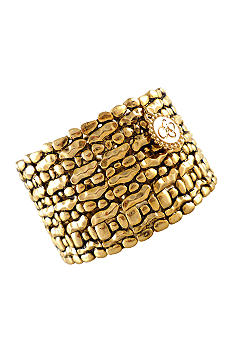 Jessica Simpson Gold Stretch Bracelet