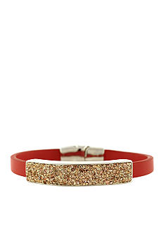 Jessica Simpson Wild Side Coral and Peach Bracelet