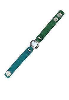 Jessica Simpson Green and Turquoise Tropic Night Bracelet