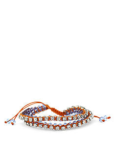 Jessica Simpson Orange Tropic Nights Double Bracelet