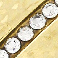 Juniors Bracelets: Gold Jessica Simpson S CRYS BANGLE