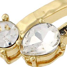 Juniors Bracelets: Gold Jessica Simpson G CRYS CUFF