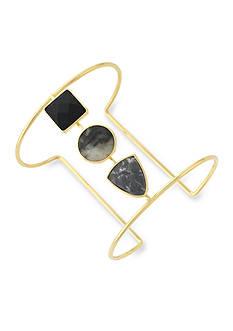 Jessica Simpson Gold-Tone Gypsy Songbird Cuff Bracelet