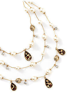 Betsey Johnson Illusion Necklace