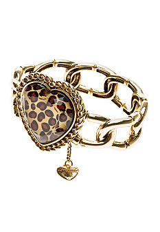 Betsey Johnson Heart Stretch Bracelet