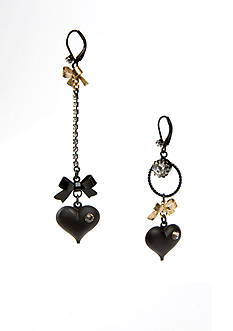 Betsey Johnson Mismatch Earrings