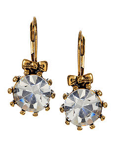 Betsey Johnson Crystal Drop Earring