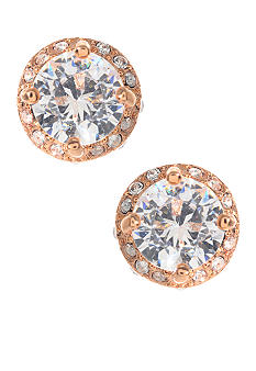 Betsey Johnson Crystal Stud Earrings