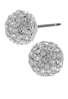 Betsey Johnson Pave Crystal Stud Earring