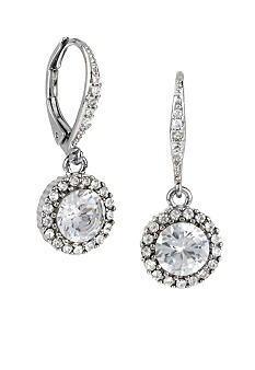 Betsey Johnson Crystal Drop Earrings