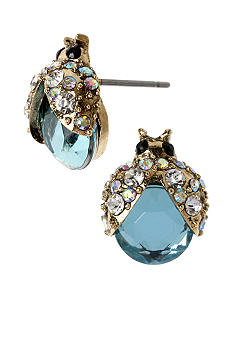 Betsey Johnson Bug Stud Earrings