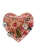 Betsey Johnson Vintage Heart Stretch Ring