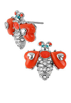 Betsey Johnson Bee Stud Earrings