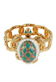 Betsey Johnson Turtle Stretch Bracelet