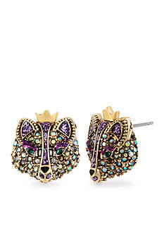 Betsey Johnson Fox Stud Earring