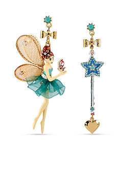 Betsey Johnson Fairy Mismatch Earrings