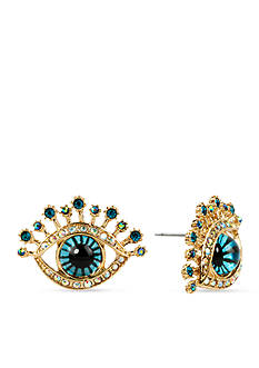 Betsey Johnson Eye Stud Earring