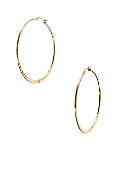 Betsey Johnson Gold Hoop Earrings